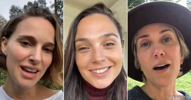 Gal Gadot Sings 'Imagine' on Instagram with Help from Natalie Portman, Zoë Kravitz and More
