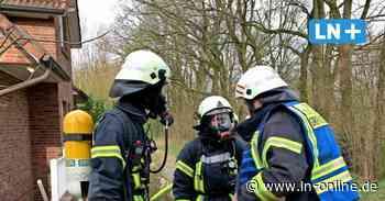 Feuerwehr - Ahrensfelde: Feuerwehr löscht brennende Kabel - Lübecker Nachrichten