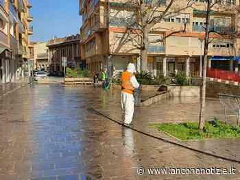 Proseguono gli interventi di disinfezione sul territorio di Falconara Marittima - Ancona Notizie