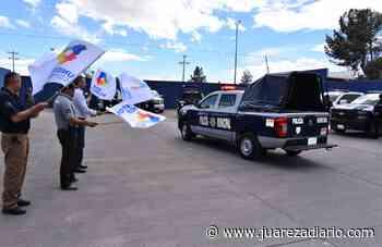 Dota Municipio de Nuevo Casas Grandes de tres vehículos a seguridad pública - Juárez a Diario