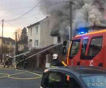 Essonne. A Brunoy, un incendie ravage un pavillon - actu.fr