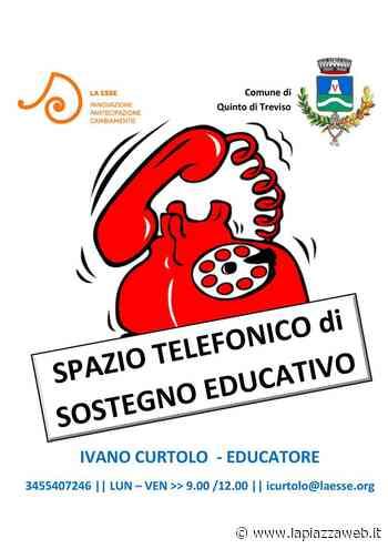 Coronavirus, Quinto di Treviso: sostegno educativo a distanza - La Piazza
