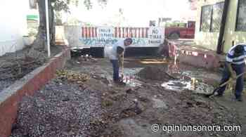 Trabajan Ecología y SPM en limpieza de canal Guadalupe Victoria - Opinión Sonora