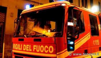 Scoppia un incendio ad Adro, Vigili del fuoco al lavoro per ore - Bsnews.it