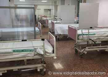 CORONAVIRUS | Instalan camas en el gimnasio del Hospital Perpetuo Socorro de Albacete - El Digital de Albacete