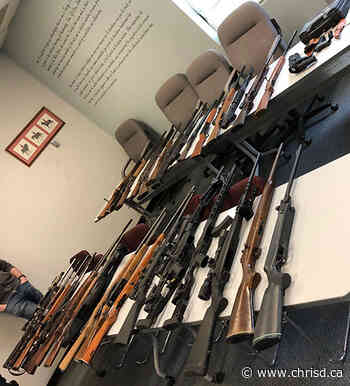 Treherne Man Charged After 36 Firearms Seized by RCMP - ChrisD.ca
