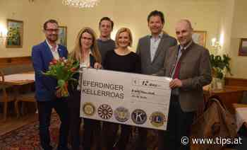 Kellerroas bringt Spende fürs Institut Hartheim - Tips - Total Regional