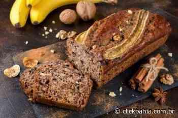 Delicioso bolo de banana, mel e canela - Arial