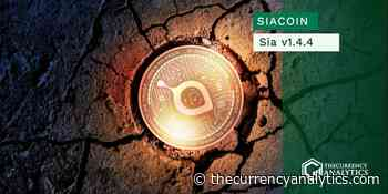 Siacoin (SC) Just Released Sia v1.4.4! They Now Have Introduced Skynet App Store Skapp - The Cryptocurrency Analytics