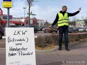 Gewerbe: Bauhaus reduziert Parkplätze in Birkenwerder - Märkische Onlinezeitung