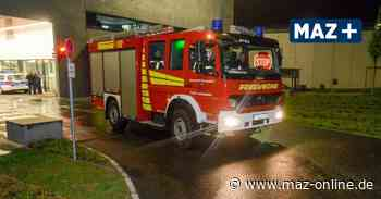 Feuerwehr im Einsatz - Flächenbrand an der A10 bei Birkenwerder - Märkische Allgemeine Zeitung