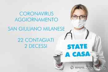 San Giuliano Milanese, Coronavirus, il sindaco Segala annuncia il secondo decesso in città; i positivi salgono a 22 - 7giorni
