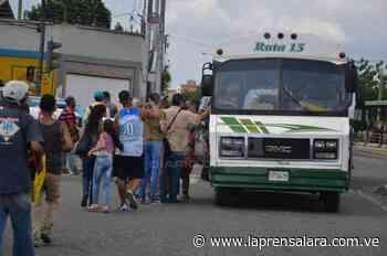 Choferes dispararon los pasajes en Barquisimeto y Cabudare - La Prensa de Lara