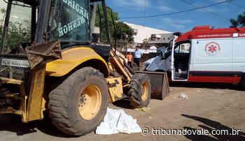 Idoso morre atropelado por trator em Ibaiti - Tribuna do Vale