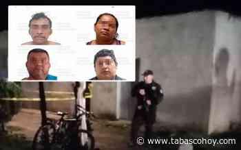 Aseguran a presuntos asesinos de niño y jovencita en Huimanguillo - tabasco hoy