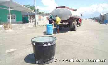 Alcaldía de Pijiño del Carmen atiende desabastecimiento de agua con carrotanques - El Informador - Santa Marta
