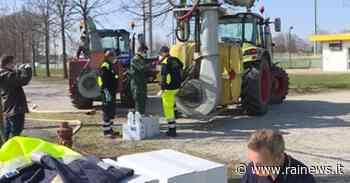 San Giorgio delle Pertiche (Pd): trattori per sanificare le strade - TGR – Rai