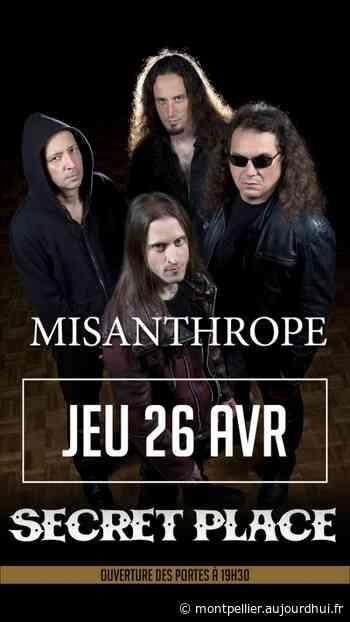MISANTHROPE - Secret Place , Saint Jean De Vedas, 34430 - Sortir à Montpellier - Le Parisien Etudiant - Le Parisien Etudiant