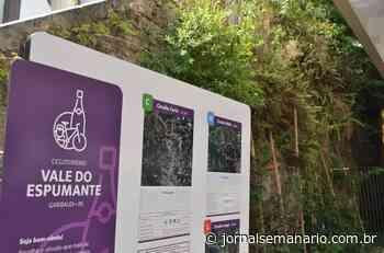 Nova Rota Turística recebe sinalização em Garibaldi - jornalsemanario.com.br