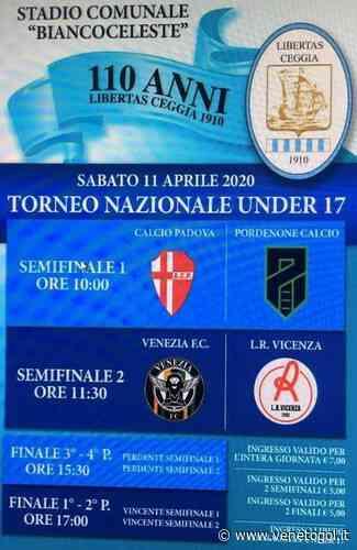 Libertas Ceggia. A rischio il torneo nazionale Under 17 per i 110 anni - venetogol.it