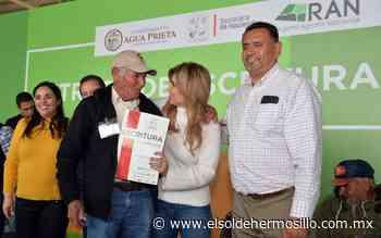 Claudia Pavlovich entrega apoyos en Naco, Agua Prieta y Santa Cruz - El Sol de Hermosillo
