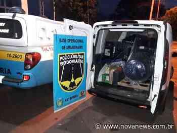 Ivinhema – PMR apreende produtos subtraídos de loja em Dourados - Nova News