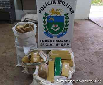 Polícia Militar prende três por tráfico em Ivinhema - Nova News