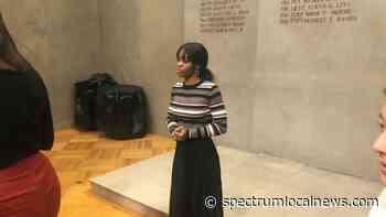 Former Olympian Gabby Douglas Visits Union College - Spectrum News
