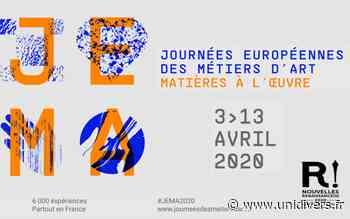 12ème SALON DES METIERS D'ART de Montbazon Espace Atout Coeur 10 avril 2020 - Unidivers