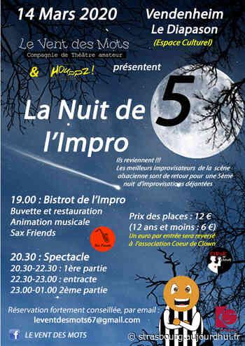 La Nuit de l'Impro 5 - Espace Culturel de Vendenheim, Vendenheim, 67550 - Sortir à Strasbourg - Le Parisien Etudiant