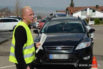 Corona Ehingen: Das Drive-in-Testzentrum in Ehingen ist in Betrieb gegangen - SWP