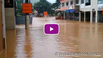 Rua virou Rio em Alfredo Chaves – Enchentes de Março no ES - Portal Maratimba