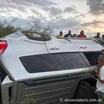Un muerto y dos heridos tras accidente de tránsito en Dajabón - El Nuevo Diario (República Dominicana)
