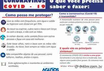Prefeitura de Agudos publica Decreto com ações de prevenção ao coronavírus - 94fm.com.br
