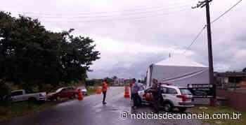 Prefeitura de Cananeia fiscaliza e controla á entrada de turista e visitante na Cidade - Noticia de Cananéia
