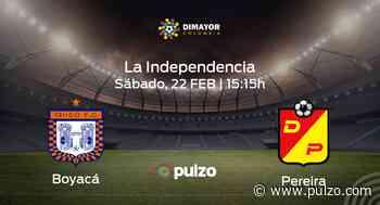 Previa del encuentro: Boyacá Chicó FC recibe en su feudo a Deportivo Pereira - Pulzo