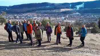 Dotternhausen: Winterwanderung auf den Höhen der Zollernalb - Schwarzwälder Bote - Schwarzwälder Bote