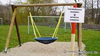 Tauberbischofsheim Betreten verboten: Spielplätze in Tauberbischofsheim gesperrt - Main-Post