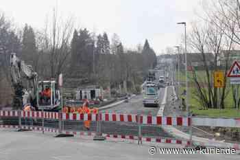 Stadt Montabaur: Bauarbeiten in der Albertstraße sind in den letzten Zügen - WW-Kurier - Internetzeitung für den Westerwaldkreis