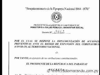 Carmen del Paraná: Total acatamiento a la restricción horaria. - radiomarandu.com.py