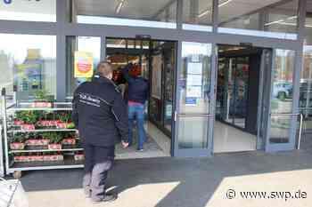 Corona Lebensmittel Haigerloch: Lidl begrenzt Kundenfrequenz auf 70 – Sicherheitsdienste im Einsatz - SWP