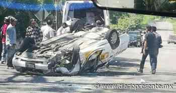 Registran accidente en Teapa; una mujer resultó con heridas de gravedad - Diario Presente