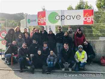 Châteauneuf-les-Martigues - Social - Le personnel d'Apave à Chateauneuf-les-Martigues est en grève - Maritima.Info - Maritima.info