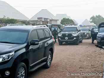 Nasarawa gov, emir of Lafia visit Sanusi in Awe - TheCable