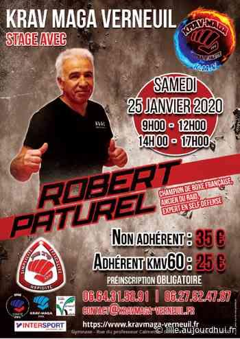 Stage Robert Paturel - Krav Maga - Gymnase Calmette, VERNEUIL EN HALATTE, 60550 - Sortir à Lille - Le Parisien Etudiant - Le Parisien Etudiant
