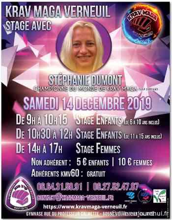La championne du monde de Krav Maga à Verneuil-en-Halatte ! - Le Parisien Etudiant