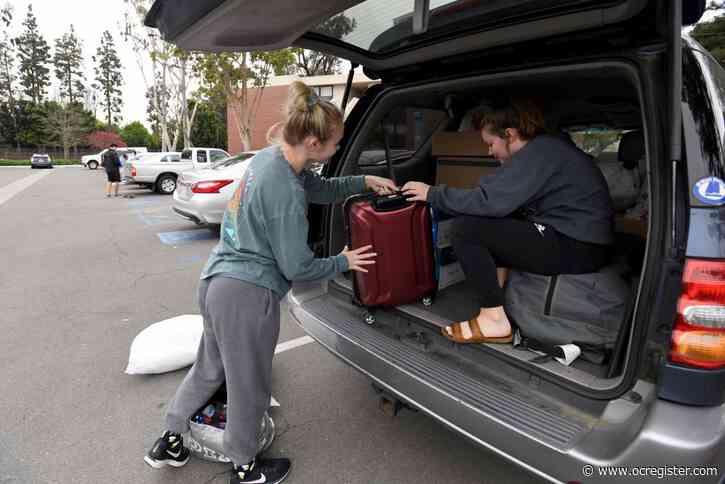 CSULB students leave dorms to self-distance amid coronavirus outbreak: 'I'm still in a bit of shock'