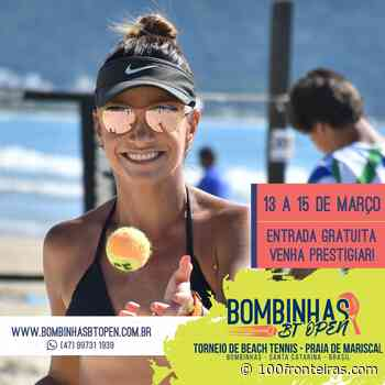Bombinhas BT Open 2020 - Torneio de Beach Tennis na Praia de Mariscal - 100 Fronteiras