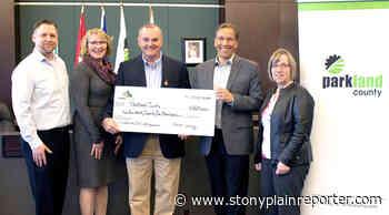 Trans Mountain, Parkland County sign community benefit deal - Stony Plain Reporter
