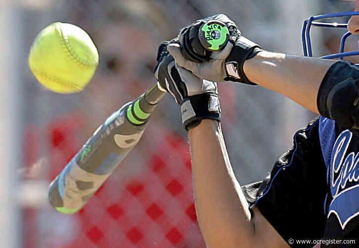 Orange County softball slugging leaders through March 16